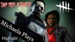 『Michaela Plays』Dead By Daylight - YANDERE MICHAEL KILLS HIS SENPAI