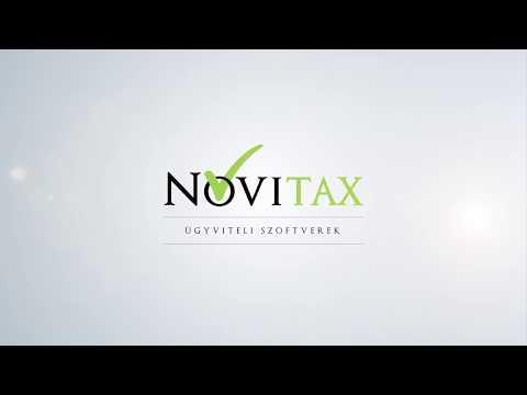 Novitax - Termékvideó
