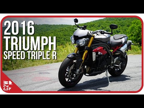 2017 Triumph Street Triple R in Shelby Township, Michigan - Video 1