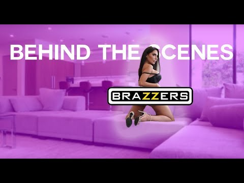 B.T.S Shooting For Brazzers - Lela Star