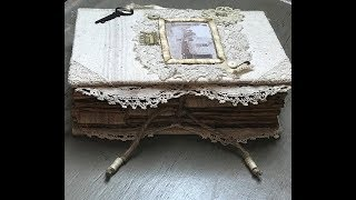 Farmhouse Style Junk Journal - A Penchant For The Past -Graphics Fairy