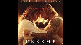 Descargar MP3 de Karol G Maluma Creeme