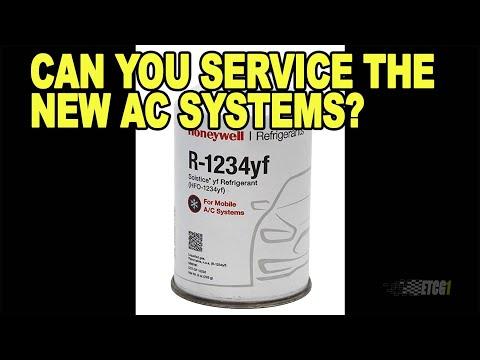 Can You DIY Service R-1234yf AC Systems?