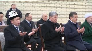Президент КР возложил цветы к могиле первого Президента Узбекистана