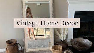 VINTAGE HOME DECOR HAUL || MODERN BOHEMIAN FARMHOUSE