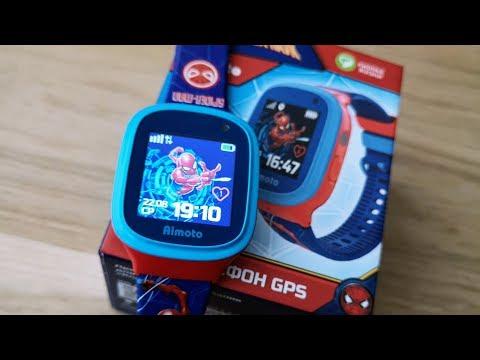 Обзор детских смарт-часов Кнопка Жизни Aimoto «Человек-паук»: Кусачая безопасность