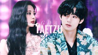 ALL TAETZU MOMENTS AT GDA 2020 | Taehyung & Tzuyu — You [TWICE x BTS]