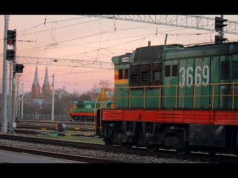 [RTrainSim] Мультиплеер на маневровом ЧМЭ3 (Симулятор железной дороги)