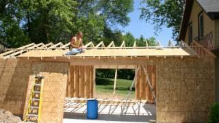 attached garage build