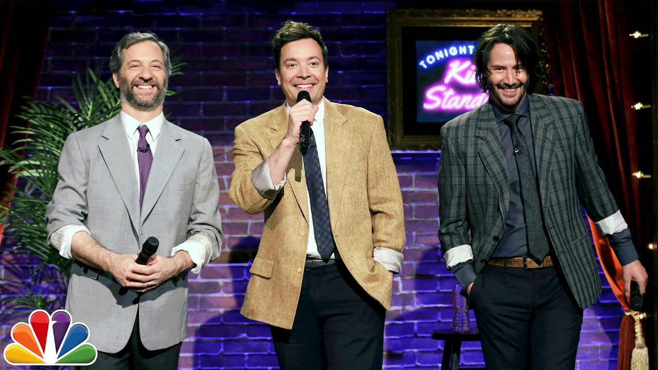 Kid Stand-Up with Keanu Reeves and Judd Apatow thumbnail