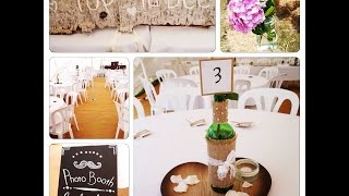 Wedding VLOG No 2! | Rustic Bohemian Wedding