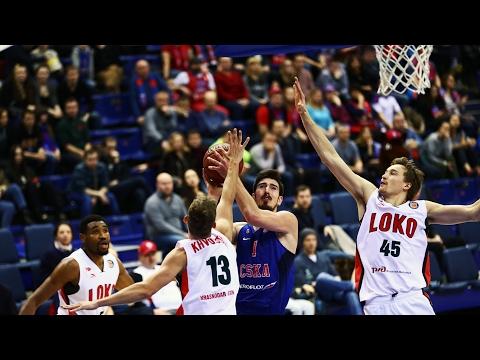 CSKA vs Lokomotiv-Kuban Highlights Feb 19, 2017