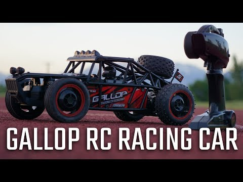 Gallop  Gizmovine Remote Control RC Racing car review – High Speed Red Buggy