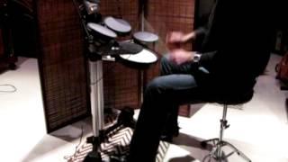 Duran Duran - Read My Lips [drum cover] Roland HD-3 V-Drums