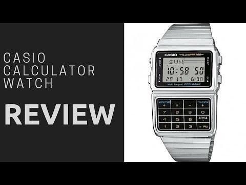 Casio DBC-611E-1EF Calculator retro watch review 2018