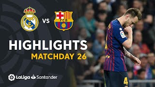 Highlights Real Madrid vs FC Barcelona (0-1) - dooclip.me