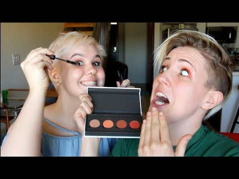 My Little Sister Does My Makeup