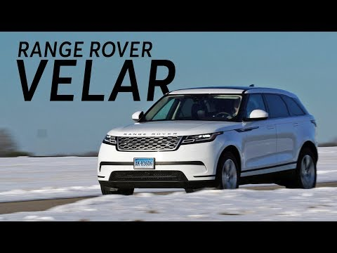 2018 Land Rover Range Rover Velar Quick Drive | Consumer Reports