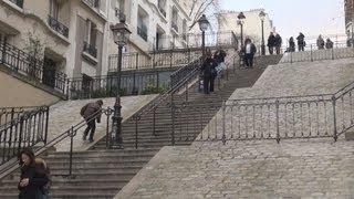 Париж, Montmartre, Paris ... Off the Tourist Track