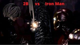 Iron Man vs 2B