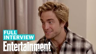 Robert Pattinson On Why He Wanted To Play Batman, 'The Lighthouse' & More   Entertainment Weekly