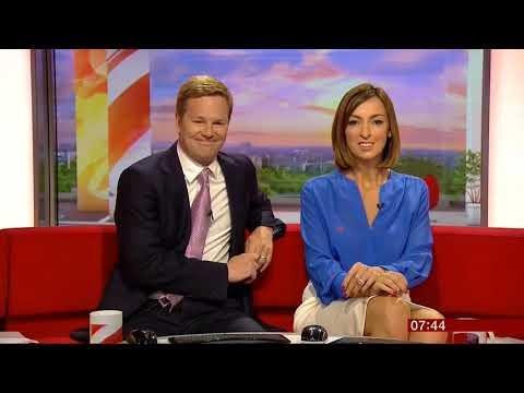 Sally Nugent upskirt | BBC Breakfast | 20160822