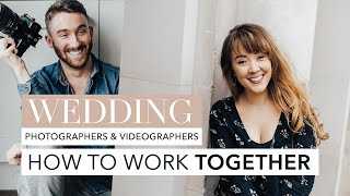 How photographers & videographers work together at weddings - THINGS YOU SHOULD KNOW!!