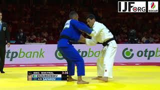 Suzuki WC Judo 2017: Urozboev Diyorbek (UZB) - Safarov Orkhan (AZE) 60 kg Semi - Final
