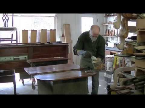 Refinishing A Drop-Leaf Table - Thomas Johnson Antique Furniture Restoration