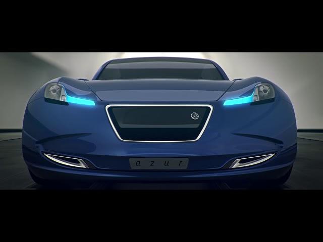bleu : the CATIA Design showcar - Reveal