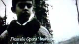 Andrea Bocelli sings nine years old