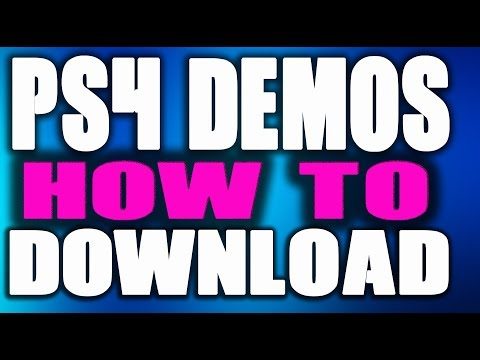"HOW TO FIND PS4 DEMOS | DOWNLOAD ANY FREE DEMO ON PSN  ""Detroit Become Human"""