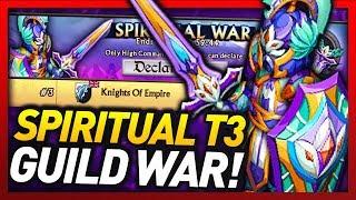 Knights and Dragons - TOP 3 SPIRITUAL GUILD WAR!! Hope Legionnair+ SPIRIT/AIR SF ARMOR PLUS!