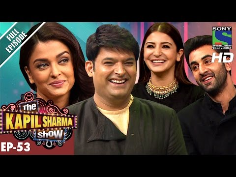 The Kapil Sharma Show - Ep.53–दी कपिल शर्मा शो–Team Ae Dil Hai Mushkil in Kapil's Show–22nd Oct 2016