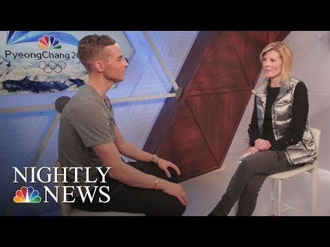 Adam Rippon On Being A Role Model And His Advice To Kids   NBC Nightly News