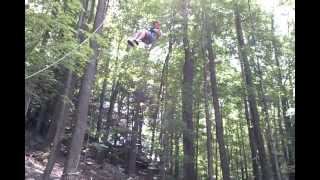 preview picture of video 'Kelly Ashley on the Giant Swing at Montrose Bible Conference'