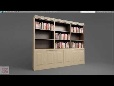 3dsMax-Tutorial 02-A Bookshelf from One Box