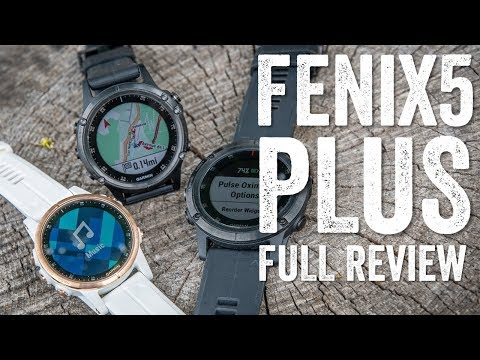 Fenix 5 Plus (5/5S/5X) New Feature Detailed Review!
