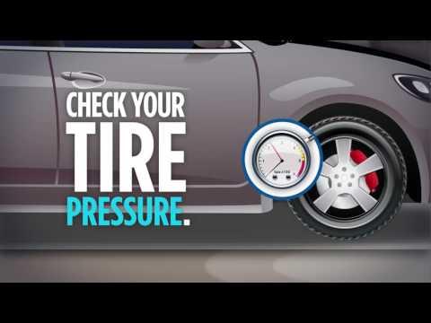 Check your tire pressure