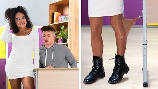22 Situações Embaraçosas Na Escola! / Momentos Engraçados e Embaraçosos