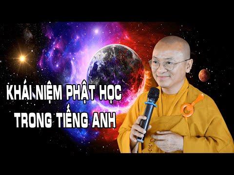Khái niệm Phật học trong tiếng Anh