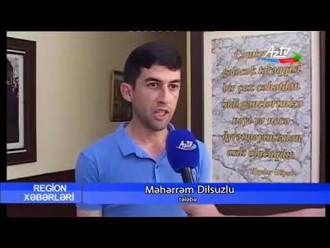 Mingəçevir Turizm Kollecİ-Aztv xəbər-süjet
