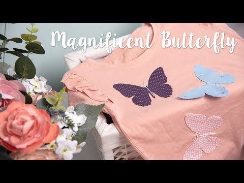 Sizzix - Upcycling Your Clothes With Our Magnificent Butterfly