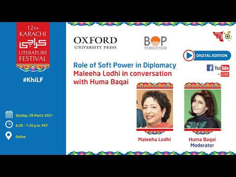 Role of Soft Power in Diplomacy: In Conversation with Maleeha Lodhi