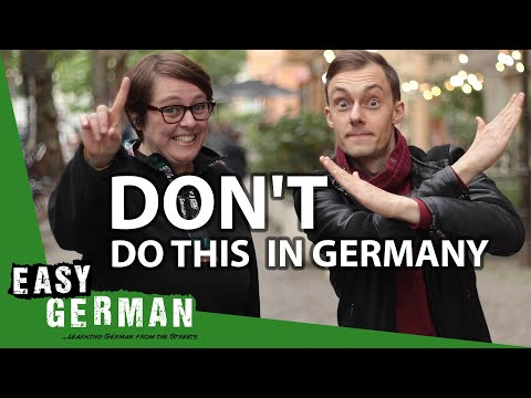 7 More Things NOT to Do in Germany | Easy German 354