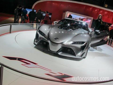 Todo Toyota en el Salón de Buenos Aires 2015