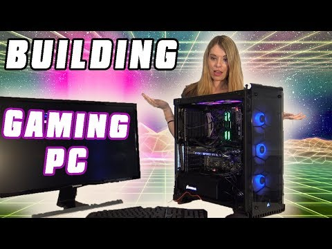 Building My First Gaming PC - Asus ROG, I7 8700K & Nvidia GeForce GTX 1080 Ti ICX