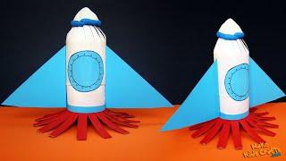 Space Rocket - Kids Crafts DIY