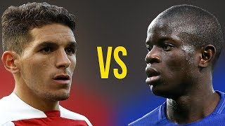 Lucas Torreira VS N'Golo Kante - Who Is The Best? - Amazing Defensive Skills - 2018/19
