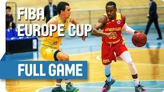 BC Astana (KAZ) v Energia (ROU) - Live Stream - Group K - FIBA Europe Cup